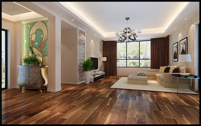 合肥丹青花园122㎡四室两厅装修设计案例