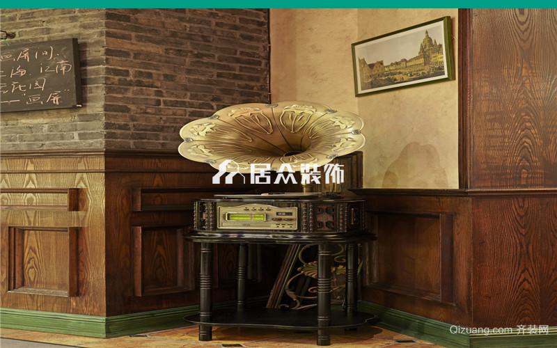 诸暨西餐厅欧式风格装修效果图实景图