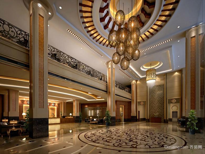 金陵大酒店欧式风格装修效果图实景图