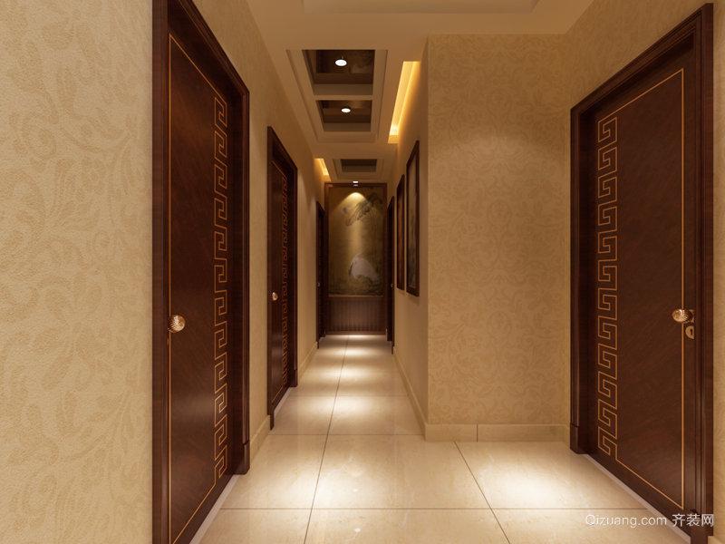 新宇拉菲公馆中式风格装修效果图实景图