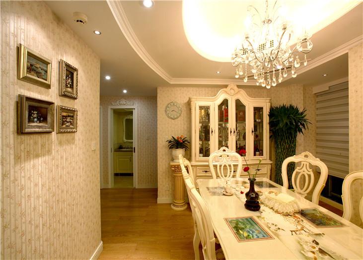 颖都家园欧式风格装修效果图实景图
