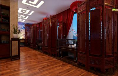 廊坊中式餐厅装修设计案例