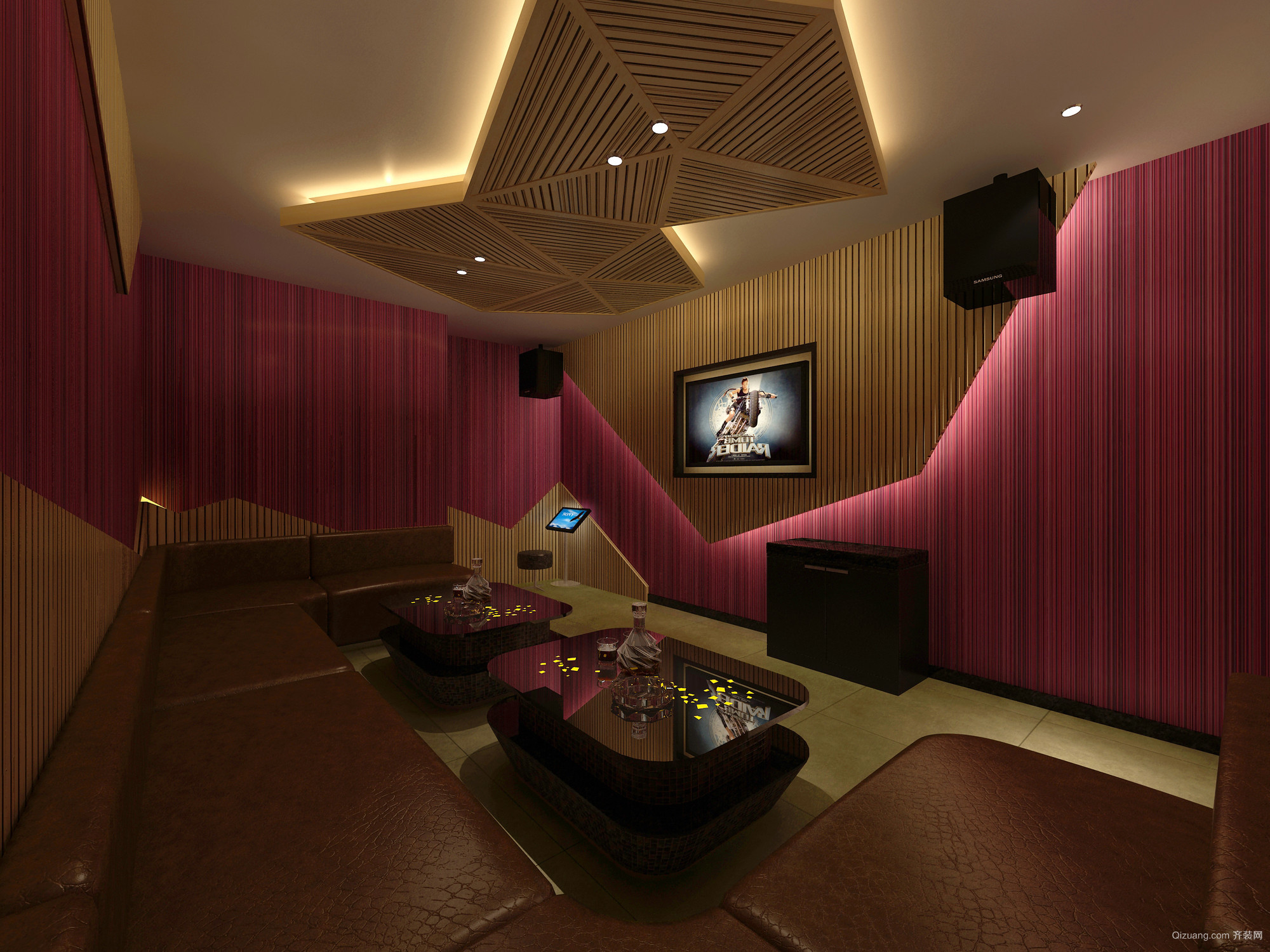 音乐餐吧中式风格装修效果图实景图