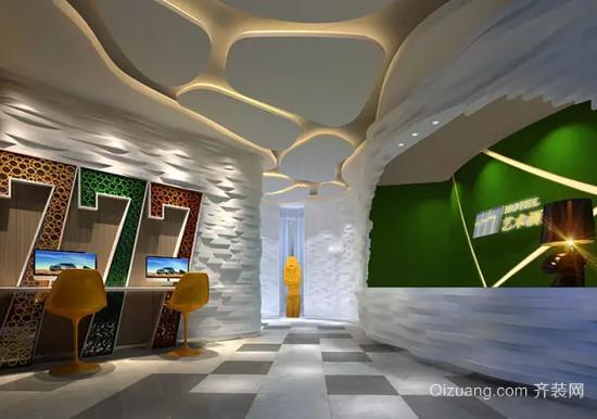 艺术酒店混搭风格装修效果图实景图