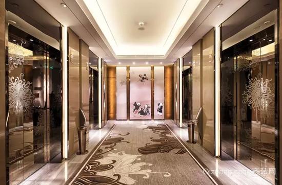 金景酒店欧式风格装修效果图实景图