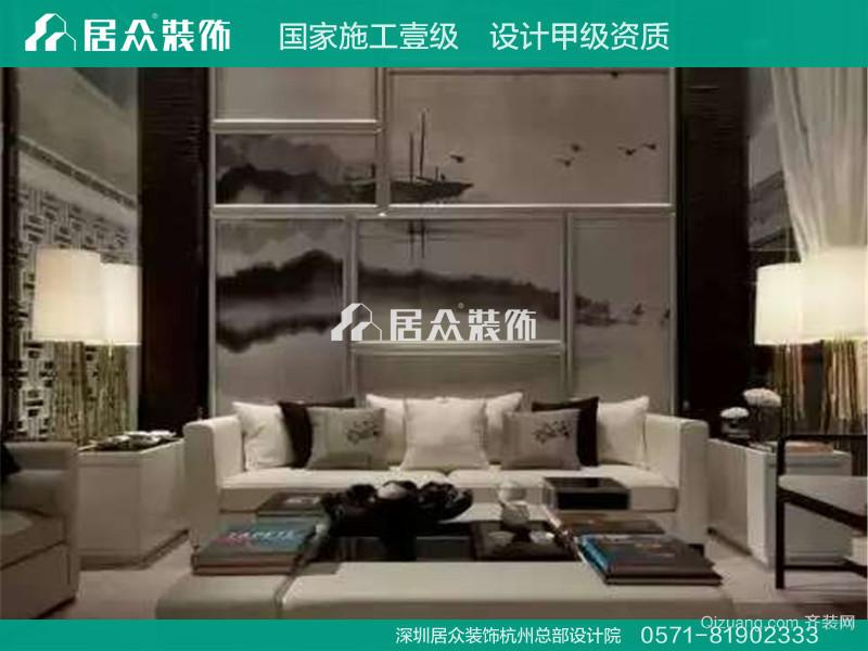 玺之湾现代简约装修效果图实景图
