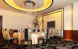 酒店餐厅包间装修效果图
