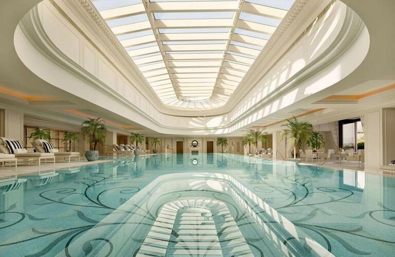 五星级大酒店游泳池设计地中海风格装修效果图实景图