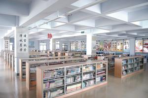 中学图书馆室内设计