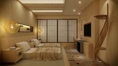 日式风格的足浴店