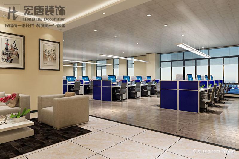上海英集斯自动化技术有限公司现代简约装修效果图实景图