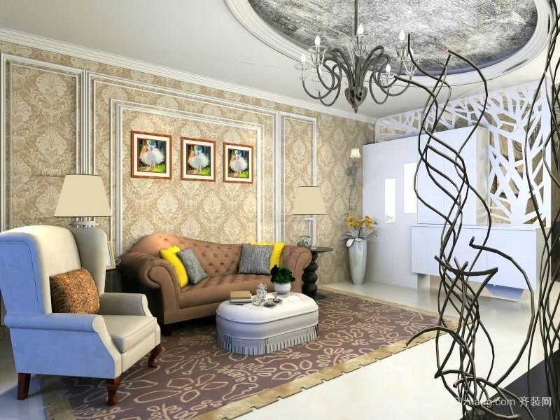 东方明珠老房改造混搭风格装修效果图实景图