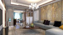 中央府邸現代簡約裝修案例