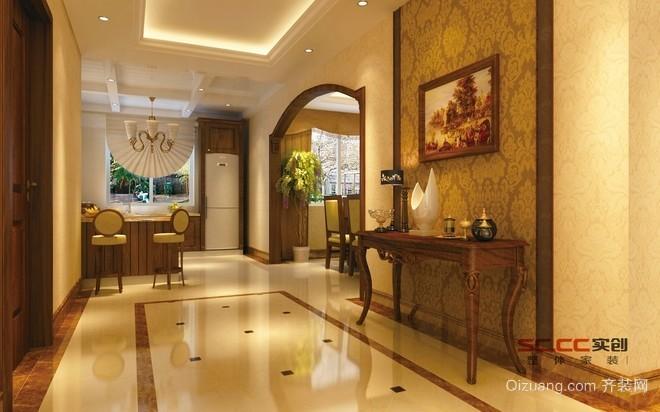 银亿上尚城别墅欧式风格装修效果图实景图