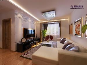 88平米普通户型现代简约家装装修图片设计 大连齐装网装修效果图