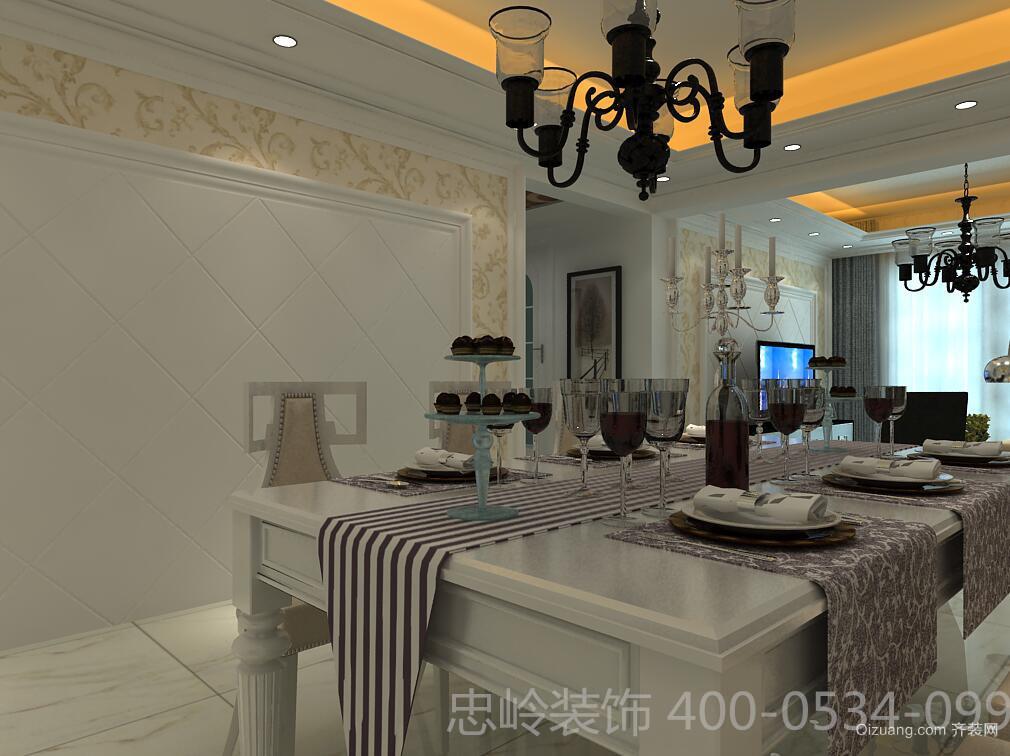 唐人中心现代简约装修效果图实景图