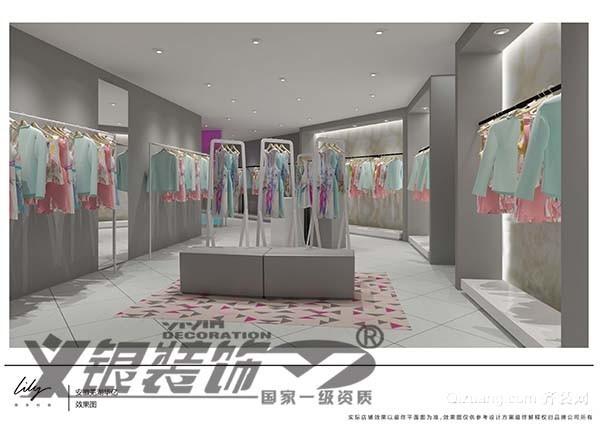 华亿lily90平米现代简约效果图现代简约装修效果图实景图