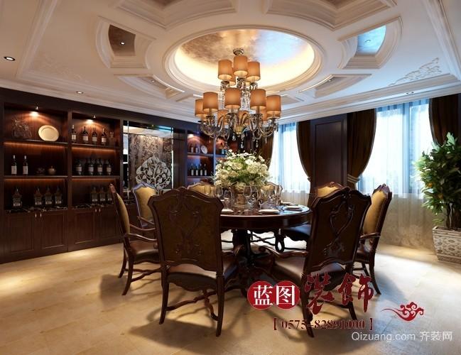 财富中心美式风格装修效果图实景图