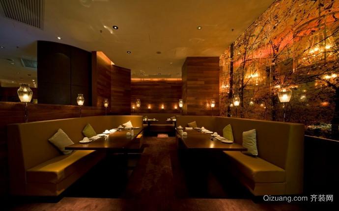 餐厅会所古典风格装修效果图实景图