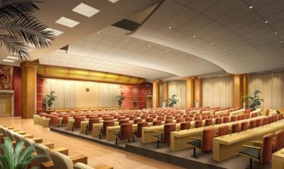 榆中会议室装修设计案例