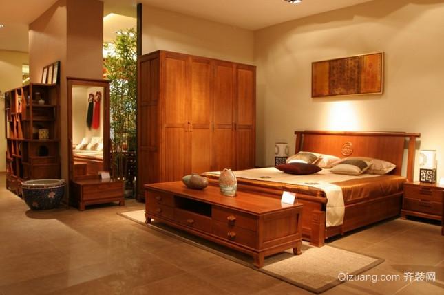 家具店中式风格装修效果图实景图