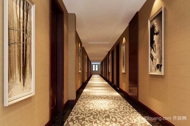 商务酒店现代简约装修效果图实景图