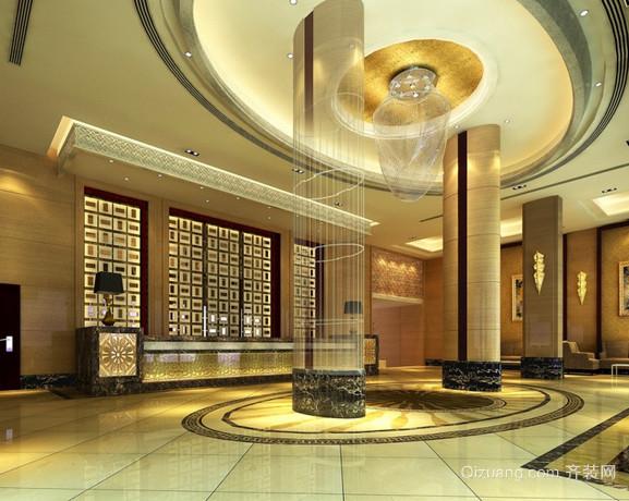 酒店欧式风格装修效果图实景图