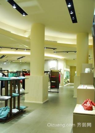 商场店面现代简约装修效果图实景图