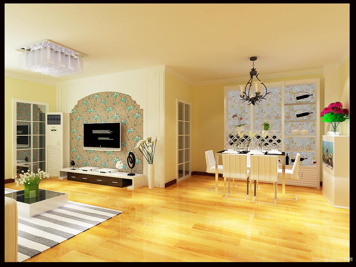 中海国际社区别墅美式风格装修效果图实景图