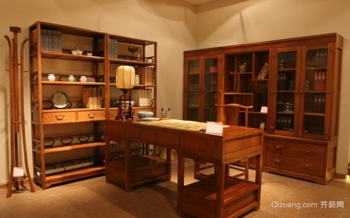 红木家具店中式风格装修效果图实景图