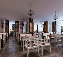 餐馆中式风格装修案例