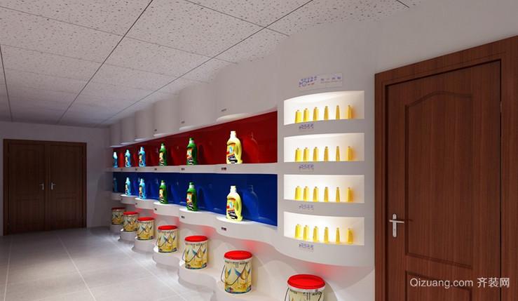 公司门廊现代简约装修效果图实景图
