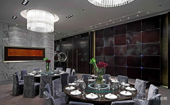 饭店混搭风格装修效果图实景图