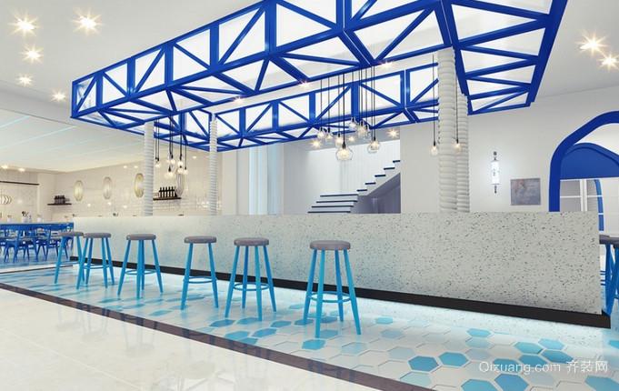 餐厅地中海风格装修效果图实景图