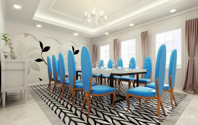 餐厅混搭风格装修效果图实景图
