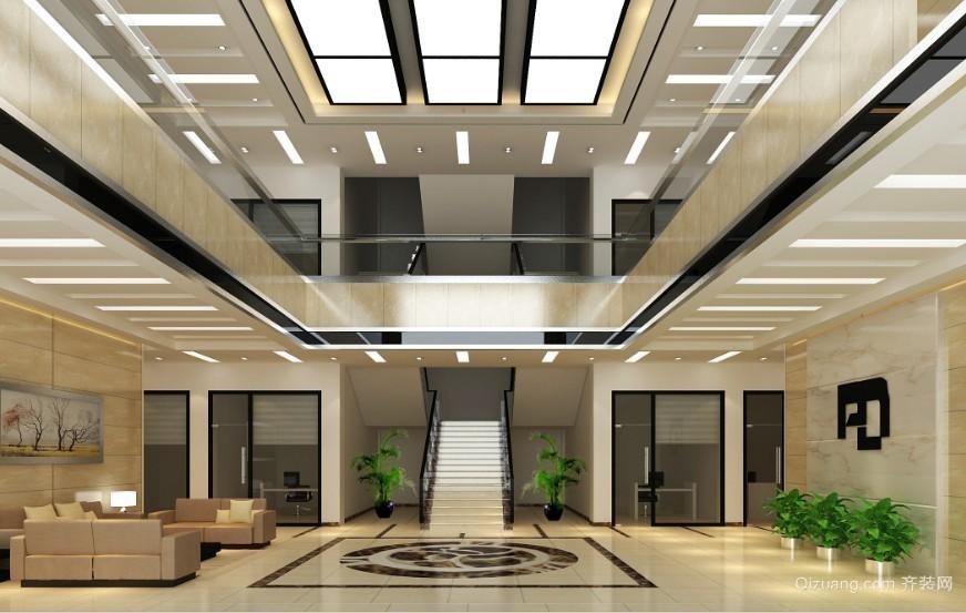 十里牌办公楼现代简约装修效果图实景图