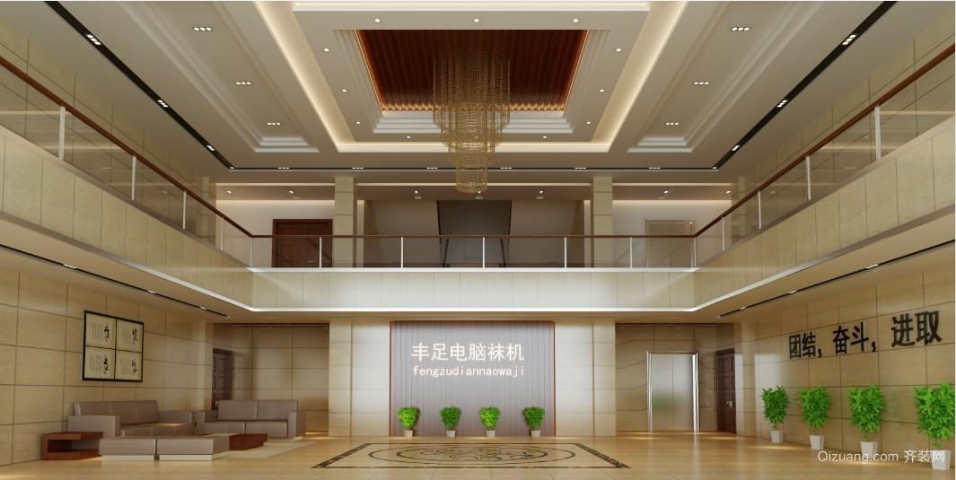 牌头办公楼现代简约装修效果图实景图
