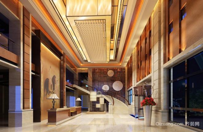 城东湖公馆中式风格装修效果图实景图