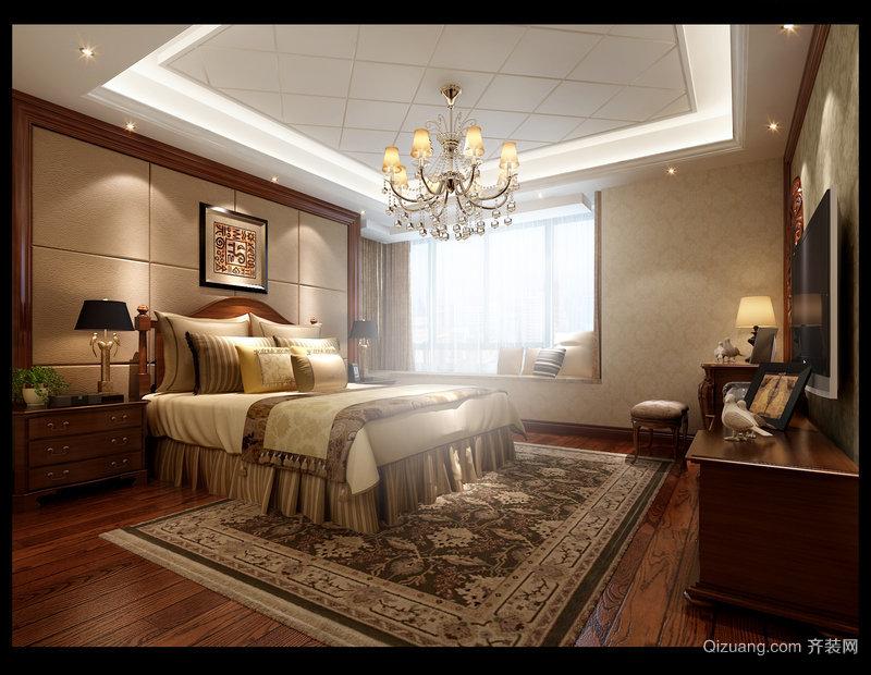 洪城东公馆美式风格装修效果图实景图