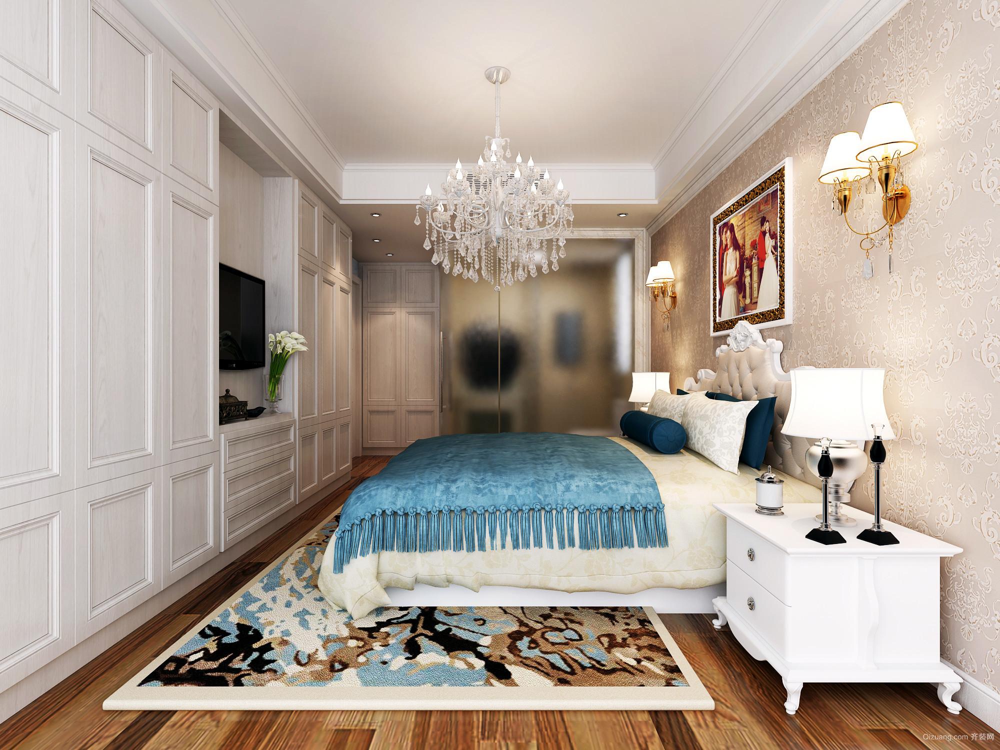 伟星和院欧式风格装修效果图实景图