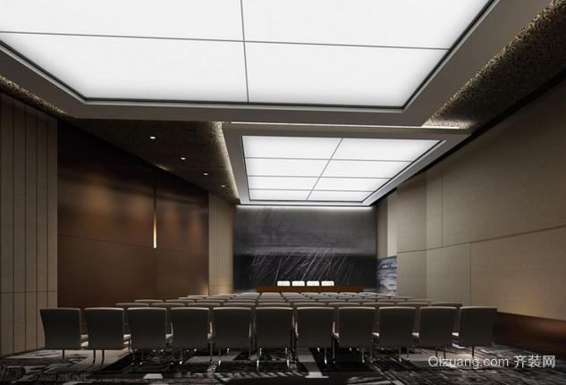 会议厅现代简约装修效果图实景图