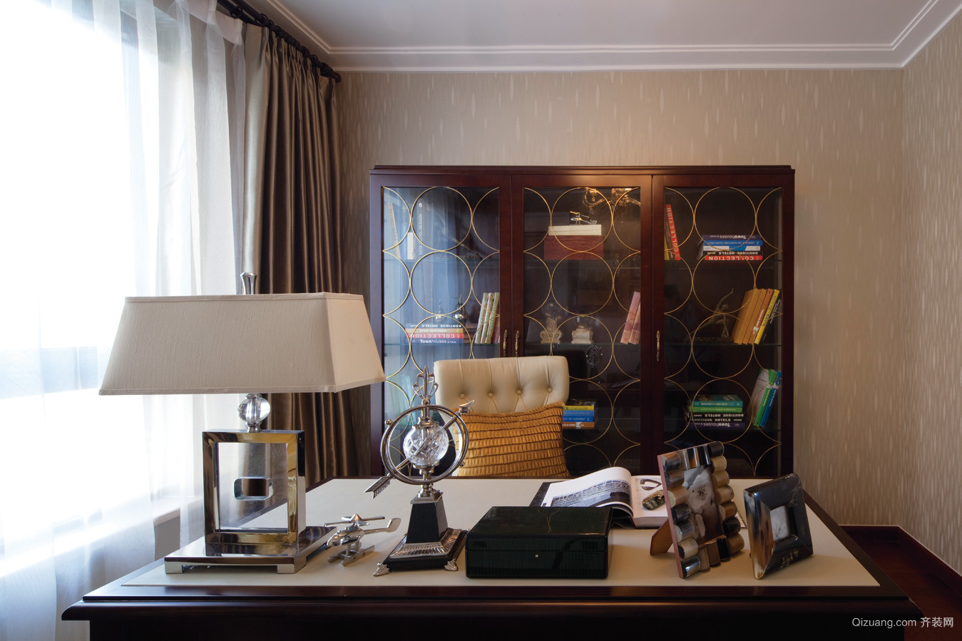 高尔夫庄园房间欧式风格装修效果图实景图