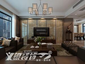 东方龙城绿竹苑129平米现代简约效果图