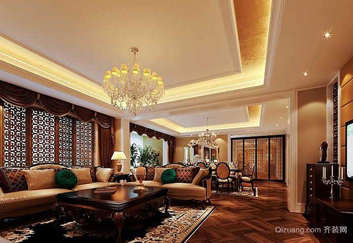 300欧式别墅欧式风格装修效果图实景图