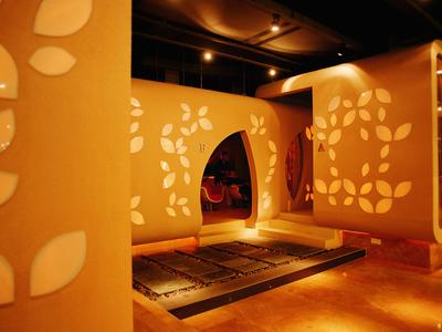 杭州水会美容院装修效果图装修设计案例