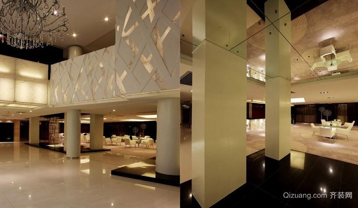 售后处展厅现代简约装修效果图实景图