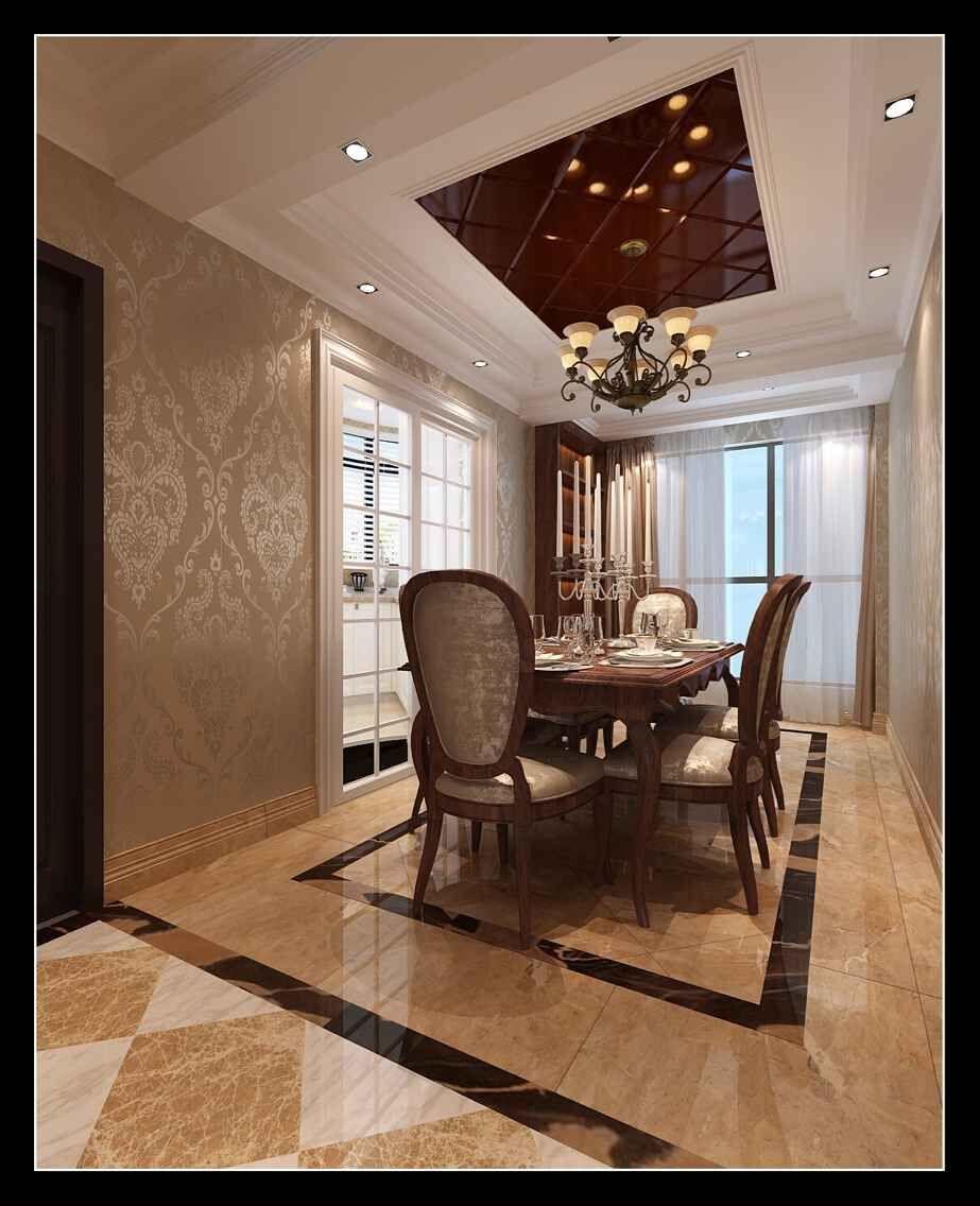 单位房现代简约装修效果图实景图