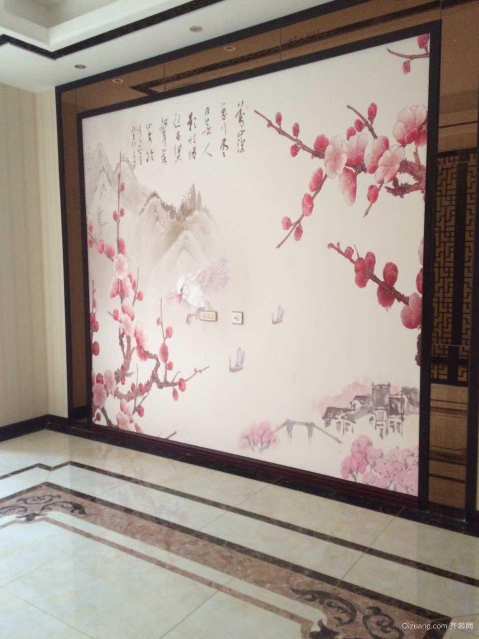 高山流水星币传说中式风格装修效果图实景图