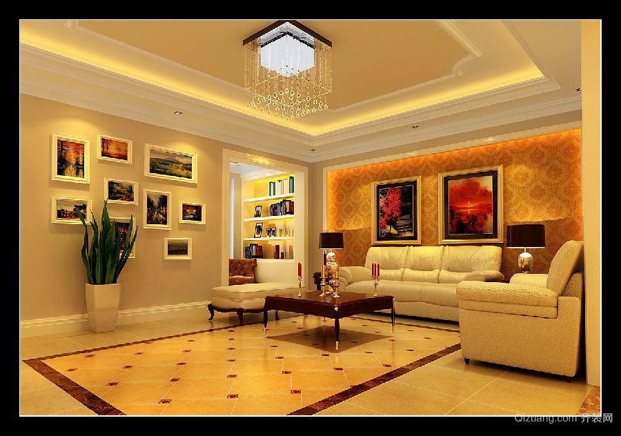 永裕·绿洲豪庭欧式风格装修效果图实景图
