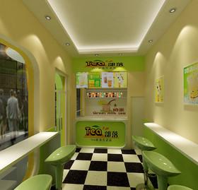 青剑湖奶茶店